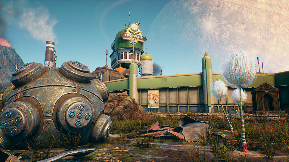 The Outer Worlds Nintendo Switch Port Postponed Header Image