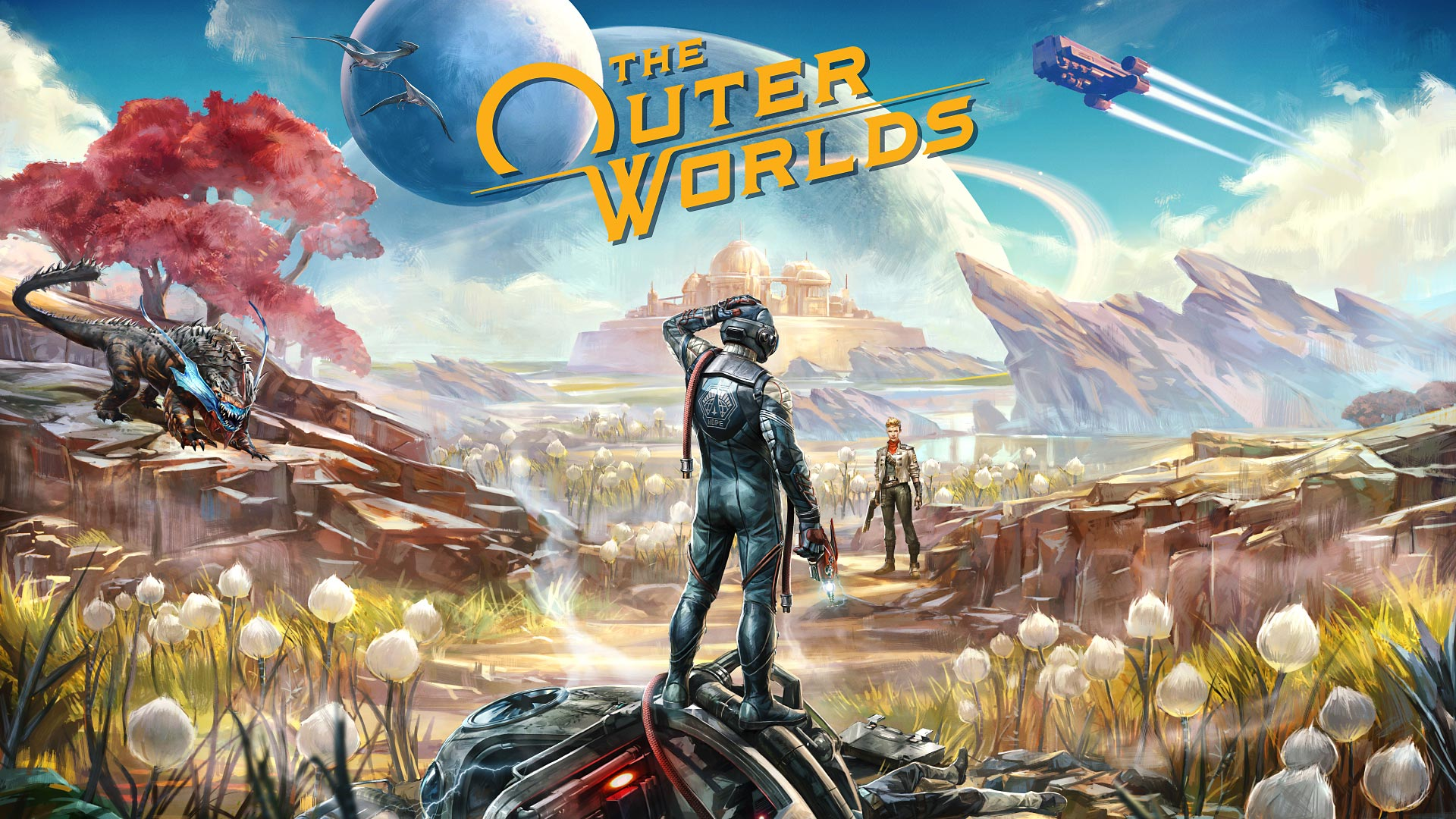 The Outer Worlds Shirts Now Available For Purchase Header Image
